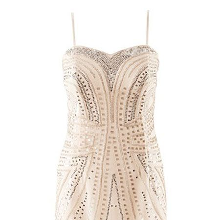"""<p>This bobby dazzler of a dress ticks all the boxes and you will feel like a million dollars. It's sexy, sparkly and such a bargain that you can't go wrong. Plus you can take off the straps and wear again in the new year</p><p> </p><p>£29.99 <a target=""""_blank"""" href=""""http://shop.hm.com/gb/shoppingwindow?dept=DAM_KLAKJ_KLA&shoptype=S&ct=1292521206598"""">hm.com </a><br /></p>"""