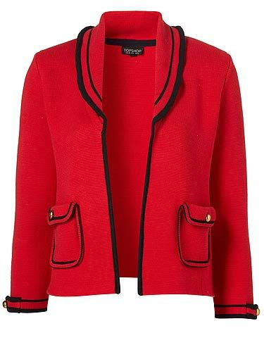 """<p>How perfect is this knitted jacket? We want it in our wardrobes, and now!</p>  <p>Jacket, £46, <a href=""""http://www.topshop.com/webapp/wcs/stores/servlet/ProductDisplay?beginIndex=0&viewAllFlag=&catalogId=33057&storeId=12556&productId=4443214&langId=-1&sort_field=Relevance&categoryId=208525&parent_categoryId=203984&pageSize=20"""" target=""""_blank"""">Topshop</a></p>"""