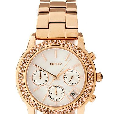 """<p>What time is it? It's time to buy this gorgeous gold watch from DKNY. From its stainless steel with a gold finish to the embellished design. We want it!</p><p>Watch, £195, <a href=""""http://www.asos.com/DKNY/DKNY-Steel-Watch/Prod/pgeproduct.aspx?iid=1805123&SearchQuery=dkny%20watch&sh=0&pge=0&pgesize=20&sort=-1&clr=Gold"""" target=""""_blank"""">DKNY at ASOS</a></p>"""