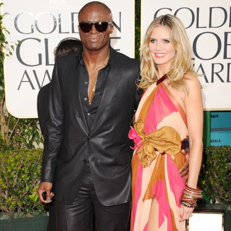 Here's Seal and Heidi arriving at last year's Golden Globe Awards and they looked so happy together, what happened in a a year? Tell us guys, WHAT HAPPENED?