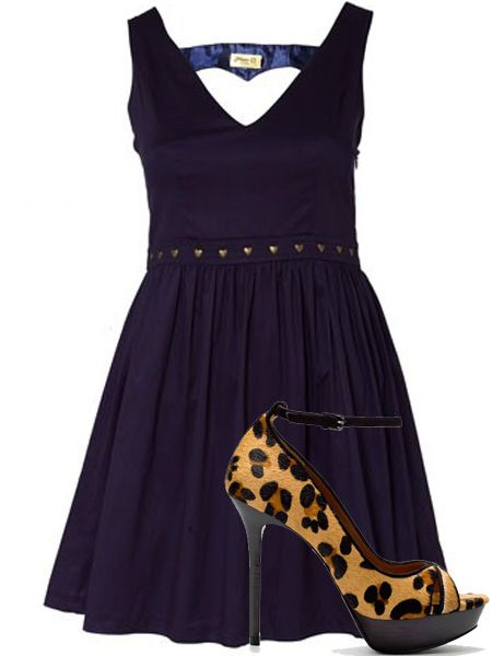"<p>Out with the girls for Valentine's? Make sure all the singles boys' eyes are on you in these head-turning outfits</p>  <p>Break his heart in this cute cut out dress with love heart studs. Team it with some racy leopard print heels to sex it up</p>  <p>Dress, £15, Max C at <a target=""_blank"" href=""http://www.oliverbonas.com/sale/sale_clothing/max_c_amore_dress.htm"">oliverbonas.com</a> </p>  <p>Shoes, £69.99, <a target=""_blank"" href=""http://www.zara.com/webapp/wcs/stores/servlet/product/uk/en/zara-W2010-s/51187/196509"">zara.com</a></p>"