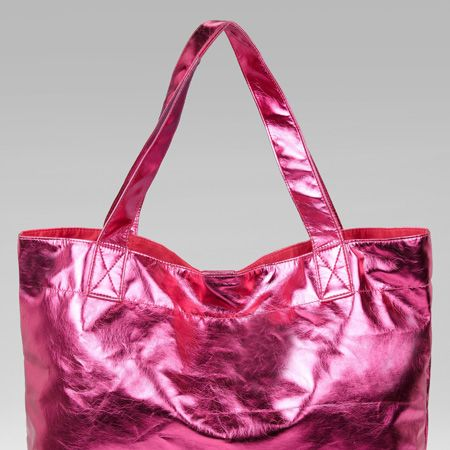 <p>We love this hot pink shopper. Arm yourself with it now and rock the colour blocking spring trend early </p><p>£18, Marks & Spencer</p>