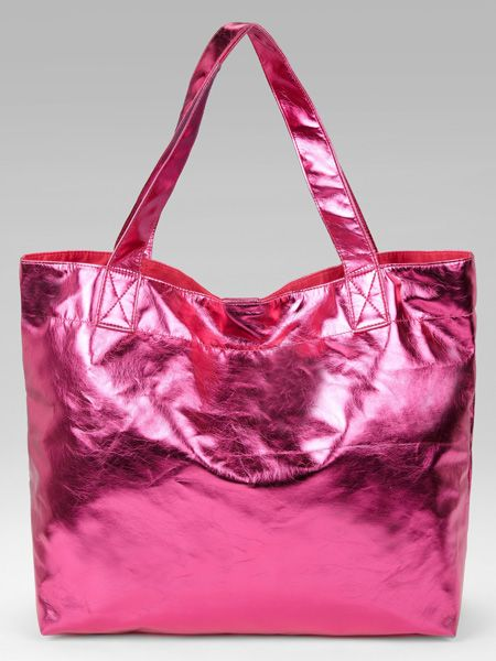 <p>We love this hot pink shopper. Arm yourself with it now and rock the colour blocking spring trend early </p>  <p>£18, Marks & Spencer</p>