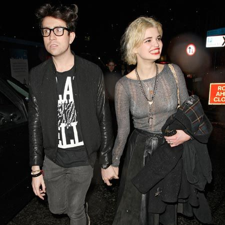 <p>Pixie Geldof and close friend Nick Grimshaw were spotted enjoying a night out at Jelouse nightclub before heading off to P Diddy and his band Diddy Dirty Money's launch party...</p>
