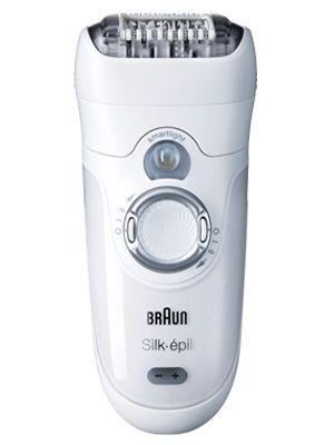 "Braun Silk-Épil Pro, £129.99, <a href=""http://www.braun.com/uk/female-grooming/silk-epil-epilators/silk-epil-7.html""target=""_blank"">braun.com</a>"