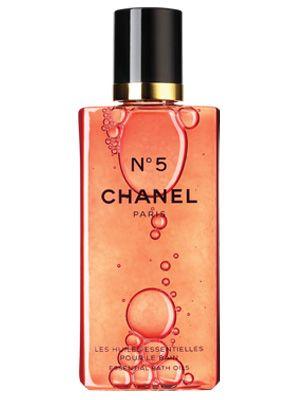 """Chanel No5 Essential Bath Oil, £30, <a href=""""http://www.chanel.com/en_GB/fragrance-beauty/Fragrance-N%C2%B05-95254""""target=""""_blank"""">Chanel.com</a>"""
