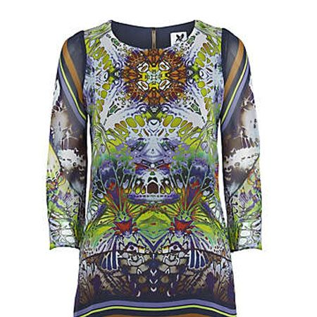 """<p>This print dress mixes digital influences with pure animal magic to create a stunning shift that will leave all trusty LBD's redundant for a long time to come</p><p>£39.99, <a target=""""_blank"""" href=""""http://www.riverisland.com/Online/women/dresses/going-out--evening-dresses/navy-digital-print-shift-dress-599708"""">riverisland.com</a></p>"""