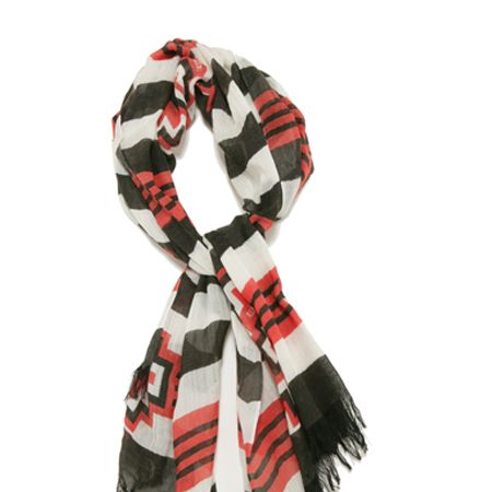 """<p>This Alice By Temperley 'IT' scarf certainly warrants its name and has appeared on Emma Watson, Amanda Seyfreid and Fearne Cotton so why not steal their style</p><p>£55, <a target=""""_blank"""" href=""""http://alicebytemperley.com/shop/accessories/aztec-scarf_6675"""">alicebytemperley.com</a></p>"""