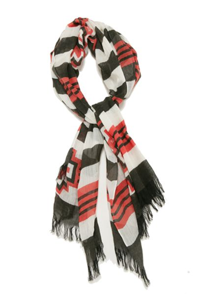 "<p>This Alice By Temperley 'IT' scarf certainly warrants its name and has appeared on Emma Watson, Amanda Seyfreid and Fearne Cotton so why not steal their style</p>  <p>£55, <a target=""_blank"" href=""http://alicebytemperley.com/shop/accessories/aztec-scarf_6675"">alicebytemperley.com</a></p>"