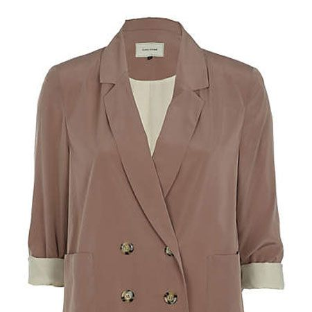 """<p>Update your wardrobe with this little beauty of a blazer. Shift from winter to spring in a mere moment with minimal effort by layering over .. well, pretty much anything actually</p><p>£39.99, <a target=""""_blank"""" href=""""http://www.riverisland.com/Online/women/coats--jackets/jackets/brown-double-breasted-blazer-599999"""">riverisland.com</a></p>"""