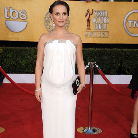 <p>The Best Actress winner wowed in winter white. Her dress was by Azarro and accessorised with Tiffany & Co earrings worth $2 million. Is she the ultimate Best Dressed star too?</p>