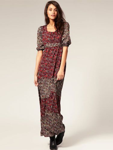 "<p>This tiered maxi will be your go-to piece for spring summer courtesy of Vero Moda. Pop it on with a pair of sandals and shades and you're ready to go!</p>  <p>Vero Moda 70's boho tiered paisley maxi, £40, <a href=""http://www.asos.com/Vero-Moda/Vero-Moda-70S-Boho-Tiered-Paisley-Maxi-Dress/Prod/pgeproduct.aspx?iid=1397877"" target=""blank"">asos.com</a></p>"