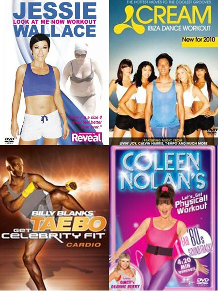 Woo hoo, the New Year is here and with it comes the resolution of getting fit and doing it fast. Dropping the Christmas weight is never fun but to keep you motivated and moving, we've put the latest batch of fitness DVDs through their paces so you can select the best at-home workout for you