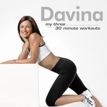 """<h3>Best for:</h3><p> Getting long-term lean limbs with a friendly face<br /><br />Davina McCall's back with yet another workout DVD but she's not getting tired, oh no. The TV star and her loveable trainers, Mark and Jackie, motivate you with four thirty minute workouts (plus a lovely Yoga stretch section) that you can mix and match. Aerobics Fit and Kick Fit are fab flab burners while Top Fit and Bottom Fit trim and tone your arms, shoulders, legs and bum with good gut busting exercises mixed into both. <br /><br />£12.98, <a target=""""_blank"""" href=""""http://www.amazon.co.uk/Davina-Fit-DVD/dp/B002KSA4HE/ref=pd_sim_d_h__4"""">www.amazon.co.uk</a><br /><br /></p>"""