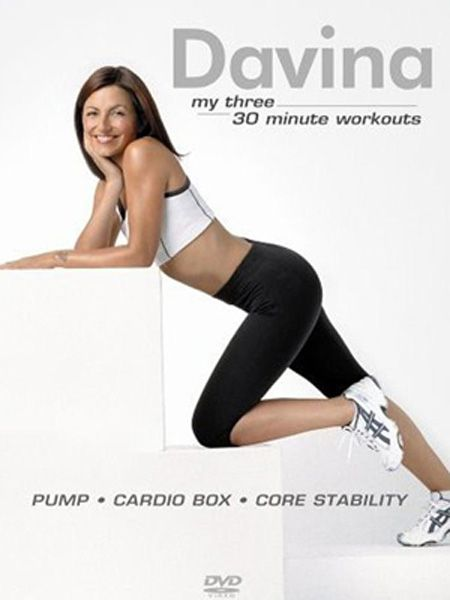 "<h3>Best for:</h3> <p> Getting long-term lean limbs with a friendly face<br /><br />Davina McCall's back with yet another workout DVD but she's not getting tired, oh no. The TV star and her loveable trainers, Mark and Jackie, motivate you with four thirty minute workouts (plus a lovely Yoga stretch section) that you can mix and match. Aerobics Fit and Kick Fit are fab flab burners while Top Fit and Bottom Fit trim and tone your arms, shoulders, legs and bum with good gut busting exercises mixed into both. <br /><br />£12.98, <a target=""_blank"" href=""http://www.amazon.co.uk/Davina-Fit-DVD/dp/B002KSA4HE/ref=pd_sim_d_h__4"">www.amazon.co.uk</a><br /><br /></p>"