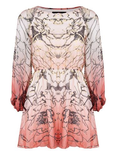 "<p>A flattering shape, warm pastel colours and an edgy print, all in glorious floaty chiffon - this Miso dress couldn't be any more perfect for the spring summer season. Wear with tights and wedges while it's still chilly out</p>  <p>£32.99, <a href=""http://www.republic.co.uk/dresses/miso-split-sleeve-abstract-print-dress/invt/82039/"" target=""blank"">republic.co.uk</a></p>"