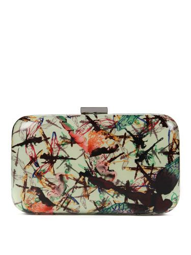 "<p>Splurge on this hardcase clutch from Ted Baker- the most stylish way to store your things on a night out. The stunning new addition is part of their new dragonfly print collection, in stores now</p>  <p>£99, <a href=""http://www.tedbaker.com/women%27s/new_arrivals/87338-dragonfly_hardcase_clutch/detail.aspx?pfm=browse#productdetails"" target=""blank"">tedbaker.com</a></p>"