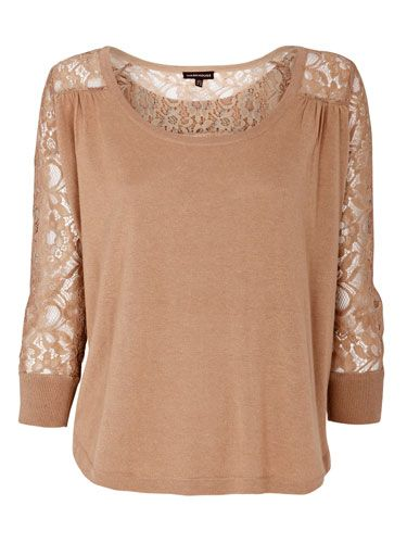 "<p>Your favourite slouchy jumper just got a lacy update. In the colour of the season, this lace-back top from Warehouse is the epitome of casual chic</p> <p>£42, <a href=""http://www.warehouse.co.uk/lace-back-top//warehouse/fcp-product/303755"" target=""blank"">warehouse.co.uk</a></p>"
