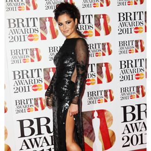 We rated Cheryl's choice of this sparkly Stella McCartney gown with mesh sleeves and side splits that flashed a lot of flesh. We think the hair could have been softer though - bring back the choppy bob!