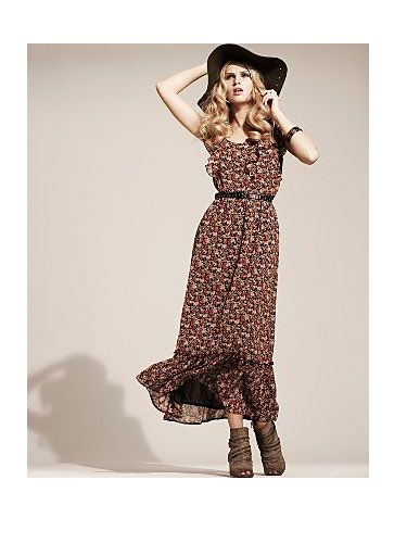 "<p>ASDA are on to a winner with this floral maxi - the boho vibe that this floaty frock oozes is hot off the catwalks. Wear with a floppy hat and boots for a western feel</p>  <p>£18, <a href=""http://direct.asda.com/george/women-s-clothing/g21/dresses/g21-floral-maxi-dress/GEM58748,default,pd.html"" target=""blank"">asda.com</a></p>"