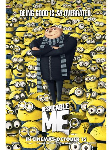 <p><strong>Despicable Me (voiced by Russell Brand, Jason Segal and Steve Carrell)</strong></p> <p>This might be a kids' film, but we loved it too – and it was nominated for a Golden Globe, so we're not alone. This 3D animation stars Gru (Steve Carell), a criminal who takes great satisfaction from other peoples' misery, and uses three orphaned girls as pawns for a grand, evil scheme. But unexpectedly (for him, not the audience...) he finds himself growing to love them. Aww. Quirky and funny, with the odd mushy moment, this is definitely one to enjoy with any small people you might have to hand.</p> <p><strong>Joanna Abeyie</strong></p>