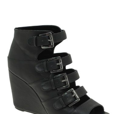 """<p>With opaque tights or bare feet, these black sandals are modern classics. Wear with denim cut-offs and a slouchy tee for a look that oozes casual cool</p><p>£40, <a href=""""http://www.asos.com/Asos/Asos-Randal-Buckle-Wedges/Prod/pgeproduct.aspx?iid=950667&cid=4172&Rf-800=-1,50.000&sh=0&pge=6&pgesize=20&sort=-1&clr=Black"""" target=""""blank"""">asos.com</a></p>"""