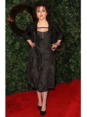 Helena always turns heads with her unique style! This black dress has actually been aired twice this awards season, first at the 63rd Directors Guild of America Awards and now at the QVC Style Party.