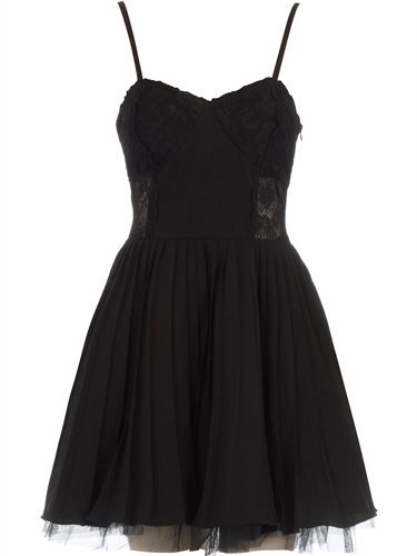 "<p>A hot date, girlie night, black tie do... this lace-trimmed strappy cocktail number is your go-to-gown for any occasion where 'sexy' is the dress code</p>  <p>£30, <a href=""http://www.dorothyperkins.com/webapp/wcs/stores/servlet/ProductDisplay?beginIndex=0&viewAllFlag=&catalogId=33053&storeId=12552&productId=2256856&cmpid=awin&_$ja=tsid:19886