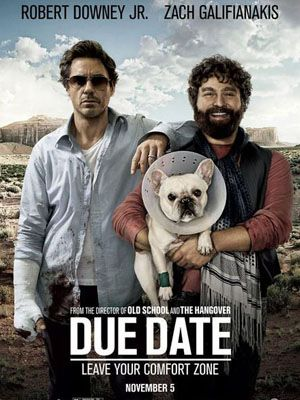 <p><strong>Due Date (Robert Downey Jr, Zach Galifianakis) </strong></p><p>The cinema is awash with buddy movies aimed at our boyfriends, but some of them come filled with enough wit and heart to make us love them too. And luckily, Due Date is one of them. When uptight father-to-be Peter (Downey Jr) and lovable doofus Ethan (Galifianakis) get thrown off a plane, they're forced to make their way home via a disaster-filled road trip. Chalk and cheese, they seem to have nothing in common – until they're forced to learn about each other along the way. The perfect date-night movie, I laughed like a drain and had to gulp back tears more than once.  An unexpected treat from start to finish, your other half will love it and so will you.</p><p>Rosie Mullender</p>