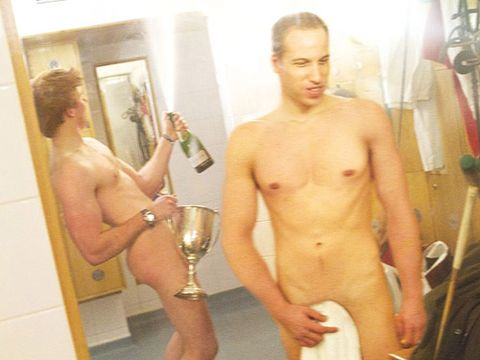 <p>Our latest centrefolds got our pulses racing; these gorgeous celebrity lookalikes of Prince William and Harry are the perfect way to lust after the royal family... without being accused of treason! With the crown jewels discreetly covered over with a trophy and a towel, not to mention those rocking hot bods, we reckon that the spitting images of our gorgeous princes would have even Kate Middleton fooled...</p>
