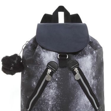 """<p>Kipling has collaborated with hot designer Peter Pilotto and we're in love with the outcome! The holdalls, duffels and shoulder bags all brag a unique Milky Way print in black, yellow or petrol shades. Worth splashing the cash on!</p><p>Peter Pilotto Lahara backpack, £82 <a href=""""http://www.kipling.com/uk-en/lahara.html?show_img=K1082230500+999""""target=""""_blank"""">kipling.com</a></p>"""