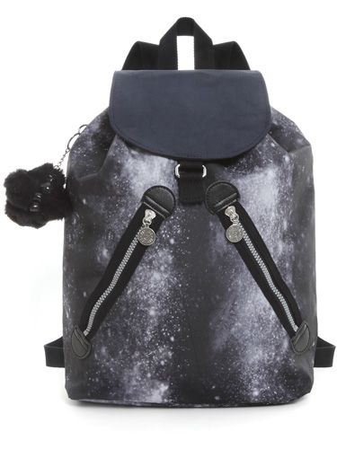"<p>Kipling has collaborated with hot designer Peter Pilotto and we're in love with the outcome! The holdalls, duffels and shoulder bags all brag a unique Milky Way print in black, yellow or petrol shades. Worth splashing the cash on!</p>  <p>Peter Pilotto Lahara backpack, £82 <a href=""http://www.kipling.com/uk-en/lahara.html?show_img=K1082230500+999""target=""_blank"">kipling.com</a></p>"