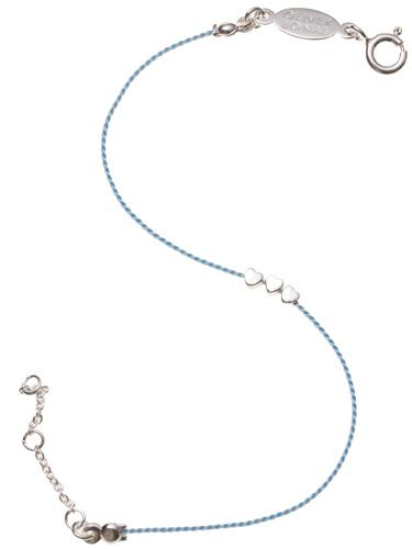 "<p>It's currently Ovarian Cancer Awareness Month and we're showing our support by snapping up this cute Ju Ju heart bracelet on sale at Oliver Bonas. It costs £14 and £2 goes to the Ovarian Cancer Action. Bravo!</p>  <p>£14, <a href=""http://www.oliverbonas.com""target=""_blank"">oliverbonas.com</a></p>"