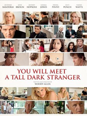 <p><strong>You Will Meet A Tall Dark Stranger (Anthony Hopkins, Gemma Jones, Naomi Watts, Josh Brolin, Antonio Banderas) </strong</p> <p>Before we start, a word of warning: This film isn't really aimed at you. With a title like that, you might be expecting a knockabout rom-com, but instead, this is a swansong for long-term love. Naomi Watts stars as Sally, a bratty PA who falls for her boss, while her failed-author husband (Brolin) woos the woman next door. Meanwhile, her dad (Hopkins) suffers a midlife crisis, leaves his wrinkly wife (Jones), and hooks up with a sexy young prostitute who wants him for his wit and looks (as if). The 'tall dark stranger' of the title refers to Sally's mum's obsession with a fraudulent fortune teller. Although Gemma Jones, especially, is fabulous, this is one to take your mum to rather than your best friend – but hopefully, you'll enjoy it too</p> <p><strong>Rosie Mullender</strong</p>