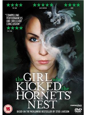 <p><b>The Girl Who Kicked the Hornet's Nest (Noomi Rapace, Hans Alfredson, Michael Nyqvist) </b></p> <p>The books have sold in their millions, but if you don't have the time/patience/willingness to lug them around, think of this movie as your highly enjoyable, drama packed crib sheet, allowing you to join in with the Stieg Larsson fans/bores (delete as appropriate) and sound knowledgeable in front of any cute guys with a penchant for political thrillers with sexy brunettes at the helm. In a nutshell: Lisbeth Salander (played by Bafta-nominated Noomi Rapace) is under police guard in hospital, awaiting trial for a murder she didn't commit. Her only hope is her journalist ex boyfriend (Michael Nyquist) who must work to expose the political cover up behind it all (clearly that relationship ended well). Expect moody suspense and a feeling of smugness when you bang on about it afterwards</p> <p><b>Laura MacBeth</b></p>