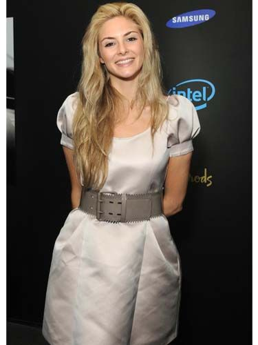 <p>Gorgeous St Trinian's actress Tamsin Egerton was another star gracing the launch of Samsung's snazzy Series 9 notebook at Harrods</p>
