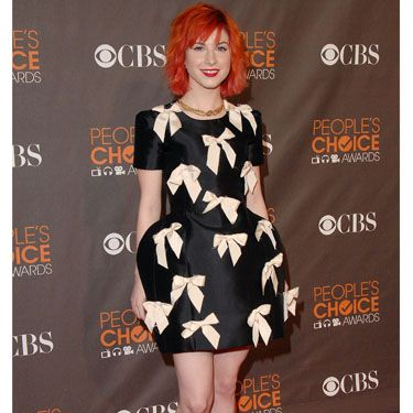 <p>Hayley's take on the trusty LBD channels her usual quirky style and shows off her fab pins!</p>