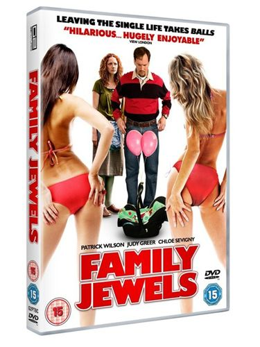 <p><b>Family Jewels (Patrick Wilson, Judy Greer, Chloe Sevigny)</b></p> <p>Every so often a film comes along that you totally missed at the cinema, but actually ends up being really rather good. Family Jewels, known in the States as Barry Munday, is one of them. Patrick Wilson (The Watchmen, The A Team) is excellent as Barry, a goateed sex-pest, who ends up losing his testicles after being attacked by an angry father with a trumpet (stay with me). He then finds out he's about to become a father with a woman he can't remember sleeping with – another brillo performance by Judy Greer (13 Going On 30). Part typical blokey, 'Let's have a close up of cleavage every five minutes,' humour, but mostly clever and heart-warming indie black comedy, this is a worthy Bank Holiday weekend watch. NB: if you're watching with your parents, there are some seriously cringy sex scenes and penis gags. Don't say we didn't warn you</p> <p><b>Debbie McQuoid</b></p>