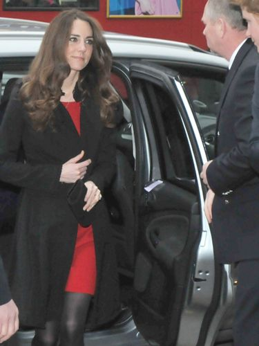 <p>Along with Prince William and Prince Harry, Kate stepped out to sign a book of condolence for the victims of New Zealand's earthquake at the country's High Commission in London.</p>