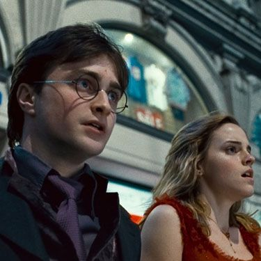 <strong>Harry Potter and the Deathly Hallows: Part 1 (Rupert Grint, Emma Watson, Daniel Radcliffe)</strong><br/><p>Yes the final instalment of HP is so ruddy big and important it comes in two parts. In this, the first part, His Royal Harryness has a mission to track down a long list of magical objects, aka Horcruxes. Imagine Supermarket Sweep, except way more stressful. A magical feast, it'll have you on the edge of your seat like an anxious house elf right until the end (a whole two and a half hours later btw.) If you're a die-hard Harry fan, this one is must for your collection. And if you're not? Worth a watch purely so you can join the Hogwarts hysteria when the final part of the final movie is released later in the year.</p><br/>Jacqui Meddings