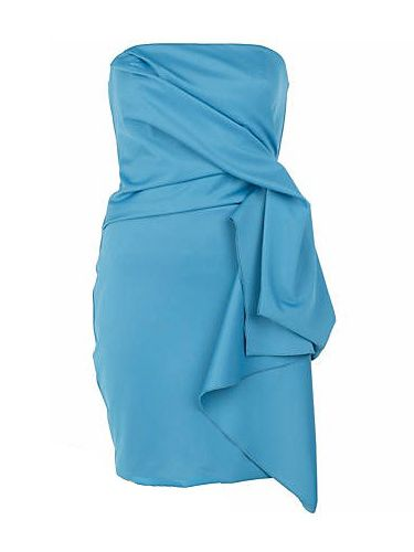 """<p>Bandeau your prom body in this blue prom beaut from River Island. Add some matching floral corsages to the gathered waist for a couture design, without the matching price tag</p> <br/> £44.99, <a href=""""http://www.riverisland.com/Online/women/dresses/going-out--evening-dresses/blue-bandeau-dress-603847""""target=""""_blank"""">riverisland.co.uk</a>"""