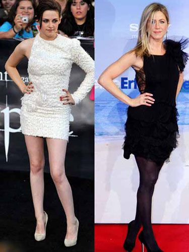 <p>When summer's just around the colour it's hard to stay faithful to that trusty old LBD, but Jennifer shows us how to keep black seasonal. The girl next door kept things light in her ruffled frock, while Kristen Stewart lived up to her casting as Snow White in her asymmetric dress - a risk that pays off?</p>