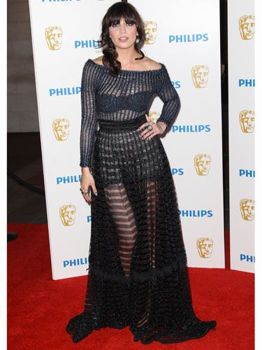<p>The curvaceous Daisy Lowe was the plus one for boyfriend Matt Smith but totally stole the limelight from her boyf in a daring sheer Craig Lawrence gown that left little to the imagination. Well you would, wouldn't you?</p>