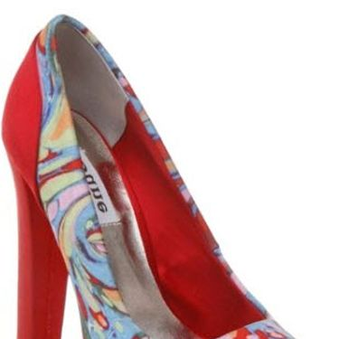 """<p>Dune has a lovely new website with some lovely new shoes on it. We think we've found our sole mates in these watercolour courts</p> <p>£85, <a href=""""http://www.dune.co.uk/wah-satin-peep-toe-shoe-prodwah00multi/""""target=""""_blank"""">dune.co.uk</a></p>"""