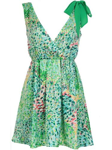 "<p>Max C's summer collection is bursting with vibrant prints. This attention-grabbing dress is a work of art</p>  <p>£45, <a href=""http://www.maxclondon.com""target=""_blank"">maxclondon.com</a></p>"