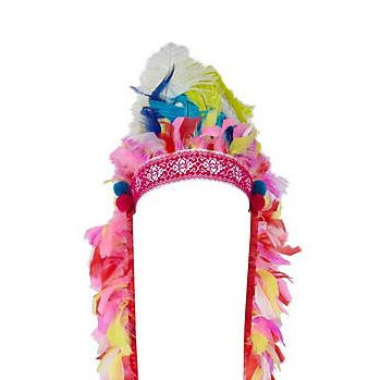 """<p>Have fun at the festival with some serious headwear like this pink multi-feather headdress from River Island. If this doesn't get some festival fashion attention, we don't know what will!?</p><p>£29.99, <a href=""""http://www.riverisland.com/Online/women/jewellery/hair-accessories/pink-feather-head-dress-603136""""target=""""_blank""""> riverisland.com </a></p>"""