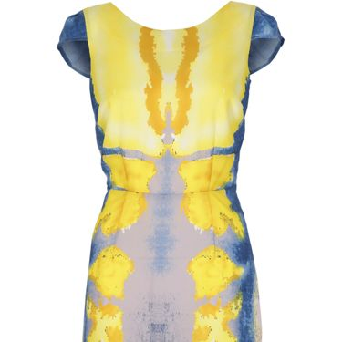 <p>Coleen's Littlewoods collection is going from strength to strength. This mouth watering ink print backless dress is top of the fashion charts this week</p>