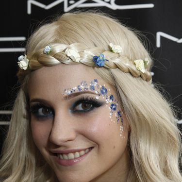 <p>Pixie, on the other hand, demonstrates the power of playful beauty&#x3B; perfect for festivals and summer soirees. Fun face-painting and hair accessories can have more impact than your choice of clothing this season – take note!</p>