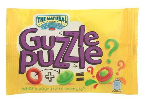 <p>Sweets don't have to be a no-no when dieting, the new Guzzle Puzzle chewy sweets from The Natural Confectionary Co contain a saintly 145 calories per bag. And not just that, they don't contain any artificial colours of falvourings – impressive!</p>   <p> 50p, available nationwide</p>