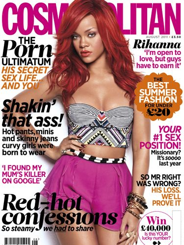 <p>This month's issue, staring Rihanna on our cover comes with a free Missguided nail polish in a choice of three fabulous colours. Get your mitts ready for a makeover!</p>  <p>But that's not all; click on for some other reasons not to miss Cosmo this month…</p>